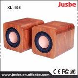 Случай 4inch desktop диктора мультимедиа XL-104 деревянный