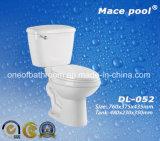 목욕탕 (DL-052)를 위한 대중적인 세라믹 2 조각 화장실