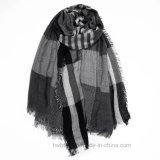 Sjaal/de Sjaal van de Viscose van de Mensen van de Leverancier van China de Streep Geweven (HWBSM01)