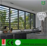 Nuevo estilo de la ventana de persiana de cristal, Persianas Persianas estándar con Australia y de un solo vidrio templado