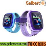 IP67 Gelbert-Elegantes impermeabilizan el reloj elegante de los cabritos del GPS con la tarjeta de SIM