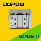 Dopow 세 배 가이드 실린더 압축 공기를 넣은 Mgpm40-25