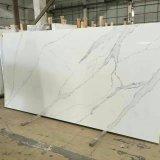 Quente-Vendendo a superfície artificial de mármore do sólido do olhar da pedra de quartzo