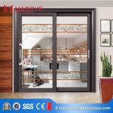 Portello scorrevole della doppia veranda di vetro di alluminio del commercio all'ingrosso della fabbrica della Cina