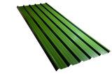 Hoja de acero del trapecio de Colorbond y de Zincalume Roofing/PPGI