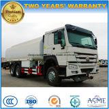 Sinotruk 6X4 HOWO 20000 L carro del depósito de gasolina 20000 litros de carro de petrolero