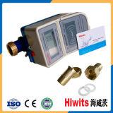 Medidor de água pagado antecipadamente Digitas esperto do cartão do baixo preço CI com software