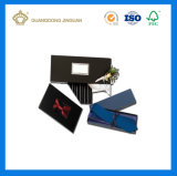 주문 로고에 의하여 인쇄되는 새로운 디자인 호화스러운 나비 넥타이 선물 포장 상자 (Windows에)