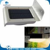 Lampe solaire extérieure de jardin de l'arrivée 24 DEL du détecteur imperméable à l'eau neuf DEL de mention