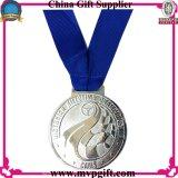 Medaille van de Sporten van de Kleur van het metaal de Zilveren voor Gebeurtenissen