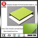 Mejor calidad de color sólido núcleo laminado compacto