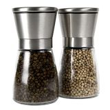 80ml / 100ml Spice Grinder Bottle / Glass Spice Bottle Grinder