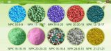 Fertilizante composto orgânico NPK do fertilizante NPK