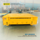 Vagone elettrico motorizzato di trasferimento del carrello della pista dei 80 oneri gravosi di tonnellata