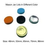 Bouchon à vis en aluminium pour Mason raccord Jar