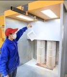 Sistema de pulverização eletrostática em pó