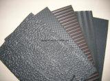 Folha de EVA do teste padrão da textura para solas da sandália