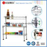 Metal ajustável mini-cozinha porta-paletes (CJ452545C4)