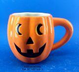 Caffè della zucca/tazza di ceramica del tè per la decorazione di Halloween