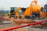 Bomba de betão movível com concreto com misturador de tambor (JBT40)