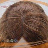 La peluca médica europea llena de Comfortale del pelo rubio de Goden para el pelo pierde a pacientes