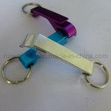 Aluminiumflaschen-Öffner, fördernder Schlüsselring-Öffner, kundenspezifischer Flaschen-Öffner-Schlüsselring