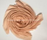 2017 Bovenkant die de de Geverfte Duidelijke Viscose van de Kleur/Sjaal van de Polyester (HMK024) verkopen