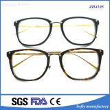 Telaio dell'ottica Eyewear dell'acetato di alta qualità con il tempiale del metallo