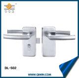 유리제 문 기계설비 (DL-502)의 스테인리스 손잡이 자물쇠