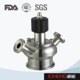 Aséptica de acero inoxidable sujeta la válvula de muestreo (JN-SPV1004)