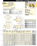 Enerpac Rsm Rcs-Series 700бар подъемным цилиндрам малой высоты Rsm-50 Rsc-101*