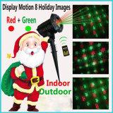 Iluminación casera excelente del proyector de la demostración de la luz laser de la Navidad
