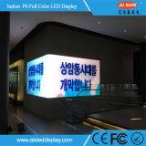 Garantía de dos años P6 Pantallas LED para publicidad