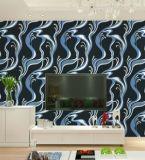 31046 papier peint de modèle de PVC 3D de vinyle de fournisseur de Guangzhou pour la décoration de mur de Chambre