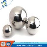 Perforación y bola perforada de la vávula de bola de acero inoxidable