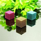 Шарик головоломки цвета шариков кубика 5mm поставкы фабрики нео магнитный