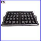 Das Checkered Aluminium Pattem Ofen-Tellersegment Druckguss-Teile