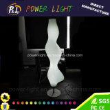 Lumière d'étage lumineuse par plastique neuf de la lampe d'étage de décor de maison d'hôtel de modèle DEL