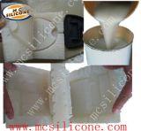 靴型の作成のための液体のシリコーンゴム