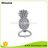 O sulcador do vaso populares de alta qualidade chaveiro abridor de garrafa de ananás personalizada