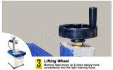 Cheap 30W de marcado láser de fibra de metal o metaloide Precio de la máquina
