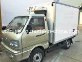 小型冷やされていたボックストラック、フリーザーのトラック、冷凍のトラック