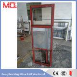 Bella finestra di alluminio della stoffa per tendine del blocco per grafici con doppio vetro