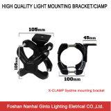 Licht-Schelle-Halterung des Auto-2-3inch für hellen Stab der LED-Arbeits-Light/LED