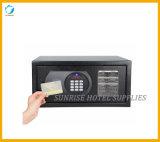 Caixa do cofre forte do dinheiro do uso do hotel do indicador de diodo emissor de luz de Digitas