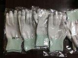 Перчатки напальчника PU Coated безшовные связанные