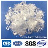 Geprägte makro Faser der synthetischen Faser-pp. verwendet im Aufbau-Beton