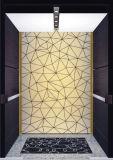 عال سرعة مسافر مصعد مع صغيرة آلة غرفة [سري] سكنيّة