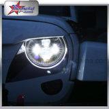 Fari luminosi eccellenti del LED per la jeep massima minima Headlghts di pollice LED del fascio 7 del Wrangler 45W della jeep