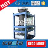 Icesta 1t/Ton Gefäß-Eis-Maschine für Indonesien/Philippinen/Afrika